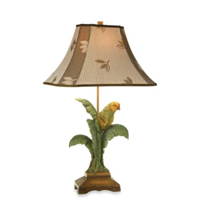 Kathy Ireland Home Tropical Parrot Table Lamp