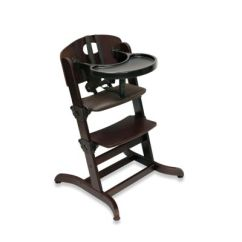 Badger Basket Evolve High Chair Covers For Banquets Evolve™ Convertible Wood In Espresso - Buybuy Baby