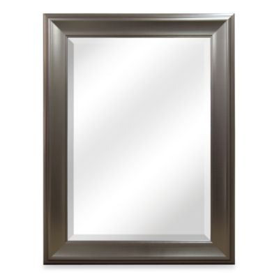 Buy Bryce Brushed Nickel Mirror from Bed Bath  Beyond