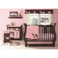 Buy Carter's Pink Elephant 4-Piece Crib Bedding Set from ...