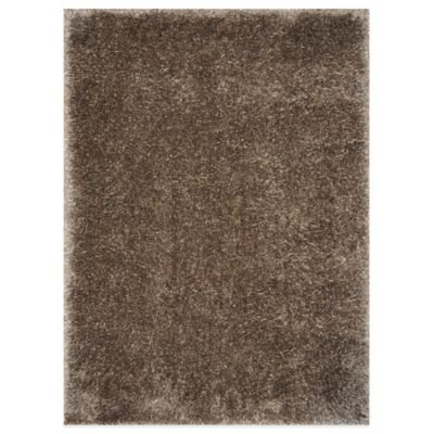 Loloi Rugs Taupe Cozy Shag Rug  Bed Bath & Beyond