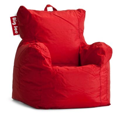 buy bean bag chair snowman covers chairs bed bath beyond big joe polyester cuddle in red
