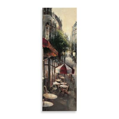 Promenade Cafe Detail Printed Canvas Wall Art Bed Bath