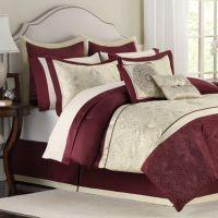 Buy Burgundy Comforter Set from Bed Bath & Beyond