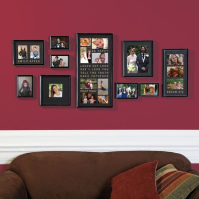 Wallverbs 10 Piece Typography Frame Collection Bed Bath