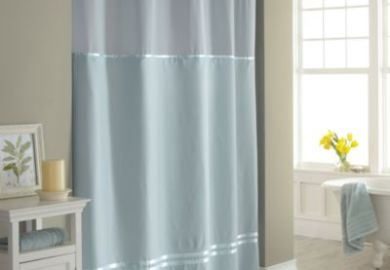 Clear View Shower Curtain