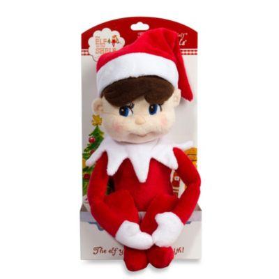 The Elf On The Shelf Boy Plushee Pal In Light Skin Tone