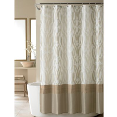 Nicole Miller® Golden Rule Fabric Shower Curtain Bed Bath & Beyond