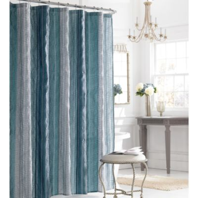 "Buy 78"" Blue Shower Curtain From Bed Bath & Beyond"