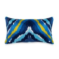 Trina Turk Trellis Chevron Oblong Toss Pillow in