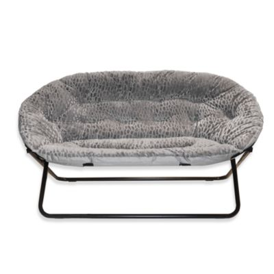Buy Idea Nova Double Saucer Chair In Grey From Bed Bath