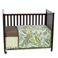 Buy My Baby Sam Paisley Splash in Pink 3-Piece Crib ...