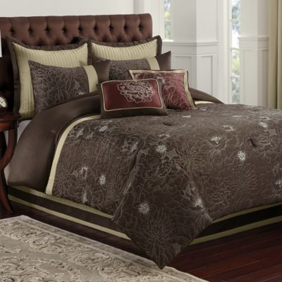 Blair Eggplant Comforter Set  Bed Bath  Beyond