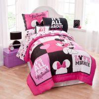 Disney Minnie Mouse Twin Comforter Set - Bed Bath & Beyond