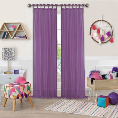 Buy Purple Window Curtains From Bed Bath & Beyond