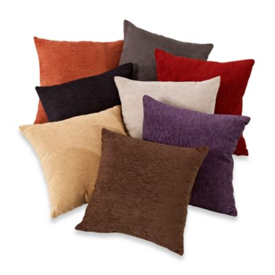 Crown Chenille Throw Pillow Set of 2 Bed Bath  Beyond
