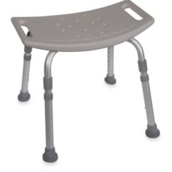 Grey Bathroom Safety Shower Tub Bench Chair Folding Loveseat Lawn Buy Drive Medical In From Bed Bath & Beyond