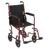Buy Drive Medical 19-Inch Red Aluminum Transport ...