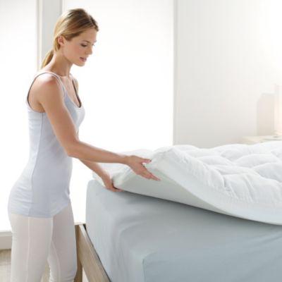 Brookstone BioSense Memory Foam Mattress Topper  Bed