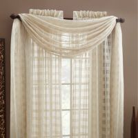 Buy Sheer Window Scarf from Bed Bath & Beyond