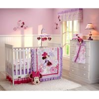 Buy Disney Baby Butterfly Dreams 4-Piece Crib Bedding Set ...