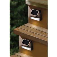Buy Moonrays Solar Mini Deck Step Light from Bed Bath ...