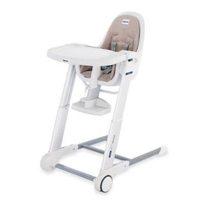 Inglesina Zuma White High Chair in Cream  Bed Bath  Beyond