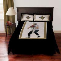 BiggShots New Orleans Saints Drew Brees Comforter Set ...