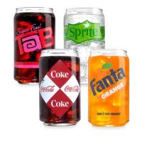 Luminarc Coca-Cola 16-Ounce Vintage Can Glasses (Set of ...