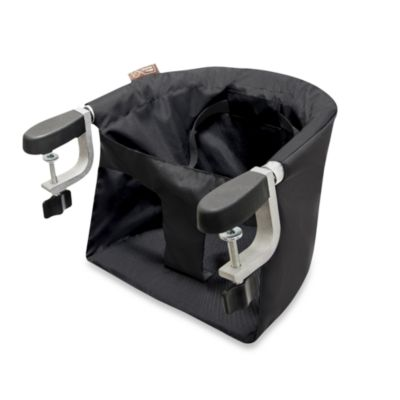 portable baby high chair hook on lazy boy office canada mountain buggy® pod clip-on in black - buybuy
