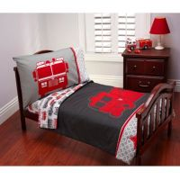 Carter's Fire Truck 4-Piece Toddler Bedding Set - www ...