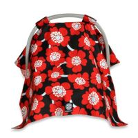 Buy Balboa Baby Car Seat Canopy in Red/Black Poppy from ...