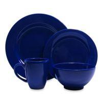 Buy Blue Dinnerware 16 Piece Set from Bed Bath & Beyond