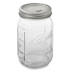 Brand New Kitchen Cost Painted Gray Cabinets Ball® Wide Mouth 12-pack Glass Canning Jars - Bed Bath ...