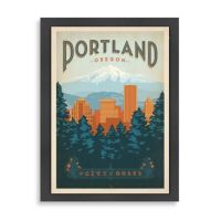 Buy Americanflat Portland Framed Wall Art from Bed Bath ...