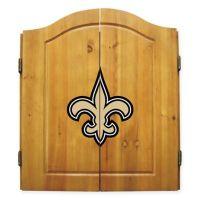 NFL New Orleans Saints Complete Dart Cabinet Set - www ...