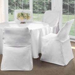 Folding Chair Sashes Boon Flair High Review Buy Covers For Chairs Bed Bath Beyond Cover In White