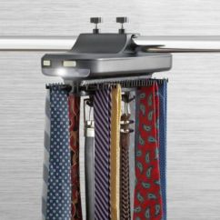 Kitchen Tool Holder Butcher Block Island Cart Revolving Tie Rack - Bed Bath & Beyond