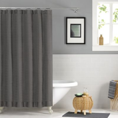 """Buy 72"""" Gray Shower Curtain From Bed Bath & Beyond"""