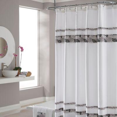 Chevron Shower Curtain In Bath Products Ebay