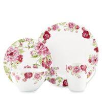 Kathy Ireland Home by Gorham Blossoming Rose Dinnerware ...