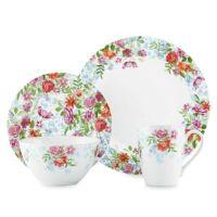 Kathy Ireland Home by Gorham Spring Bouquet Dinnerware ...