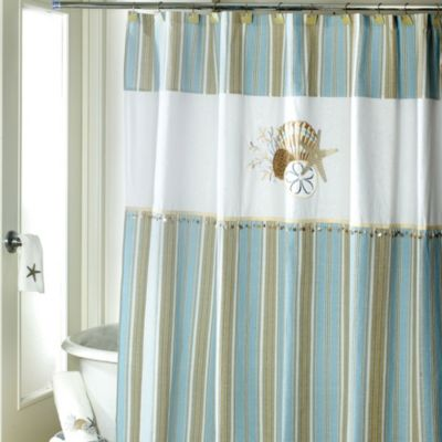 Avanti By the Sea 72Inch x 72Inch Shower Curtain  Bed Bath  Beyond