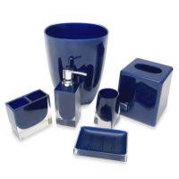 Memphis Bathroom Accessories in Nautical Blue - www ...