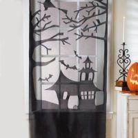 Haunted House Lace Door/Window Decoration - buybuyBaby.com