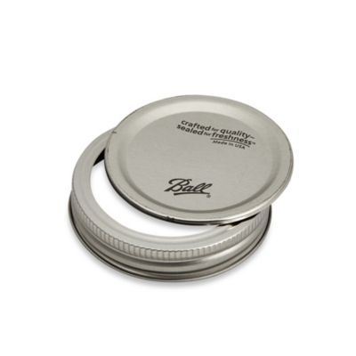 Buy Ball Regular Mouth 12Pack Jar Lids with Bands from