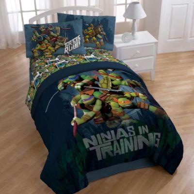 Teenage Mutant Ninja Turtles Dark Ninja Bedding and Accessories  Bed Bath  Beyond