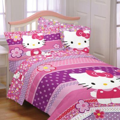 Hello kitty twin full comforter bedbathandbeyond ca
