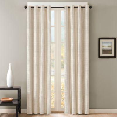 Buy 95 Inch Window Curtain Panel In Ivory From Bed Bath & Beyond