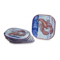 Certified International Crab and Lobster Melamine ...